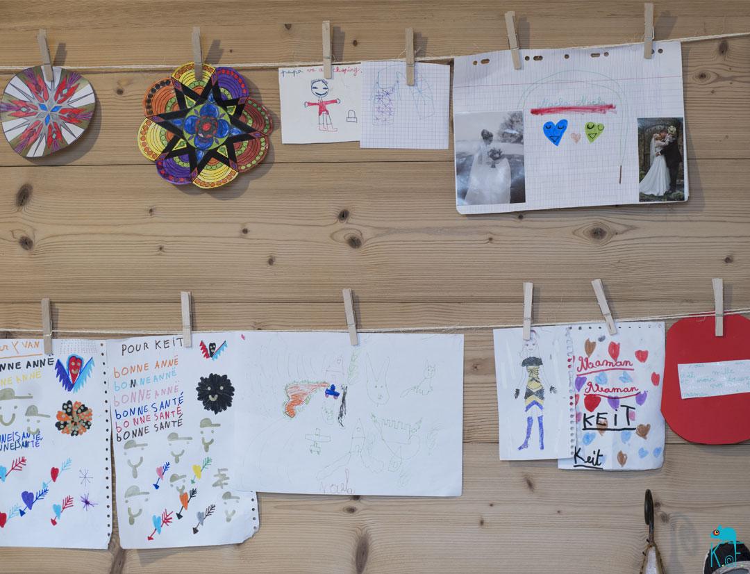 Fil d'art pour dessin d'enfant