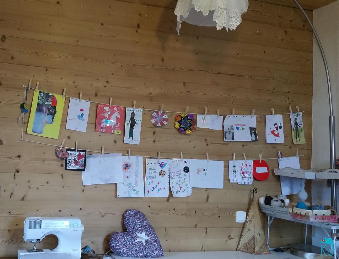 expo ^permanente des dessins d'enfant