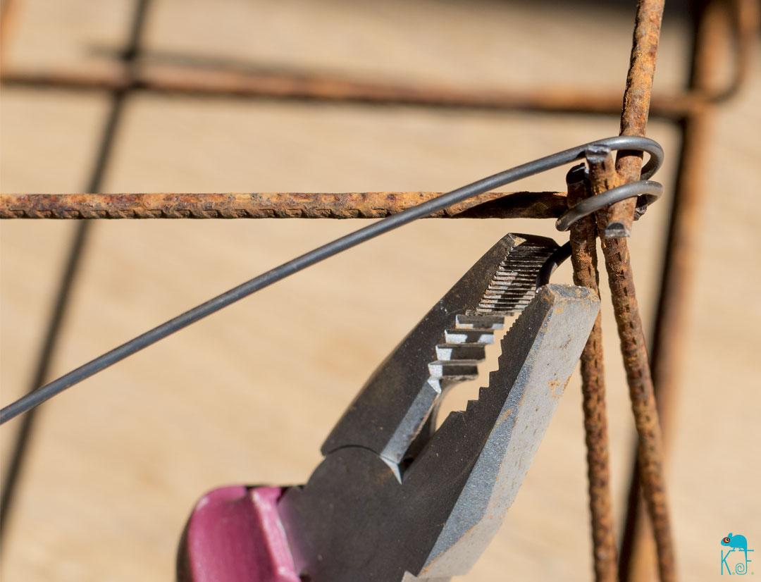 pince et fil de fer